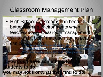 Classroom Management that Works for High School