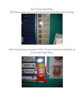 Classroom Management with Mrs. Potato Head