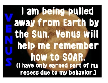 Classroom Management with the Solar System