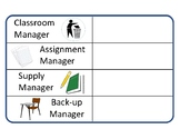 Classroom Managers Posted List