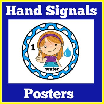FREE Hand Signals Posters