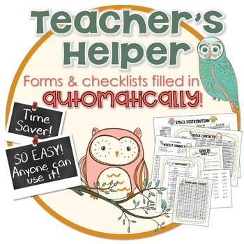 Classroom Management- Checklists, Forms ● Management in the Class