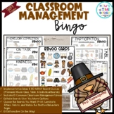 Classroom Management Bingo First Thanksgiving Edition | Game | Plan
