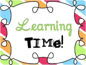 Classroom Management: Class Discipline Cards