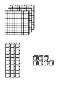 Classroom Manipulative Bin Picture labels