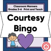 Classroom Manners: Bingo (Beginning Of Year)