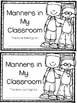 Classroom Manners Book & Sorting Activity