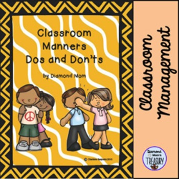 Classroom Manners Dos and Don'ts Posters
