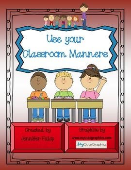 Classroom Manners Printable Board Game