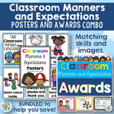 Classroom Manners and Classroom Awards BUNDLE