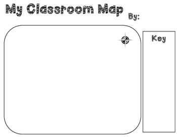 Classroom Mapping Template