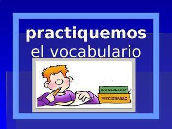 Classroom Material Vocab