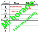 Classroom Materials (objetos de la clase)