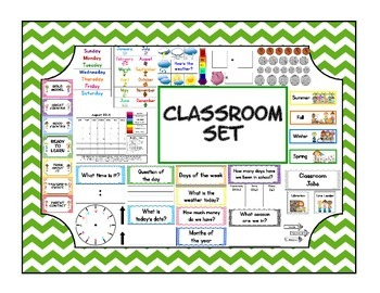 Classroom Materials set