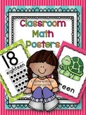 Classroom Math Posters From A Differentiated Kindergarten