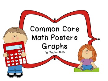 Classroom Math Posters: Graphing