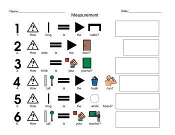 Classroom Measurement Activity