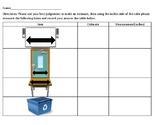 Classroom Measurement Hunt