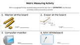 Classroom Measuring Activity