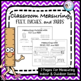 Classroom Measuring with inches, feet, and yards!