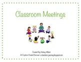 Social Story - Classroom Meetings