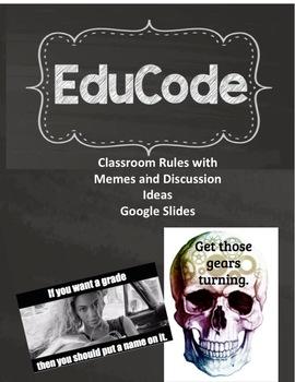 Classroom Meme Rules