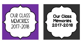 Classroom Memory Jar Set English/Spanish