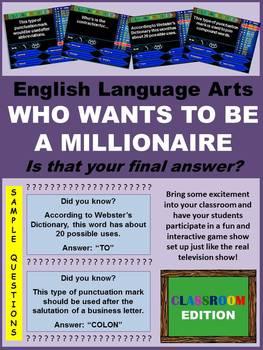 Classroom Millionaire (Trivia Game)