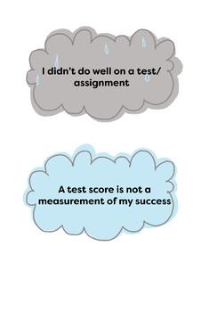 Classroom Mindset Clipart(test scores)