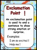 Parts of Speech and Punctuation Marks - Race Car Theme