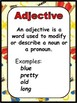 Grammar Posters-Parts of Speech, Punctuation Marks with a Wild West Theme