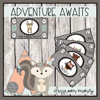 Classroom Money: Adventure Awaits Theme