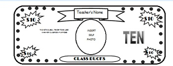 Classroom Money/Behavior System