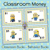 Classroom Money - Classroom Bucks - Behavior Bucks