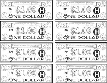 Classroom Money - EDITABLE