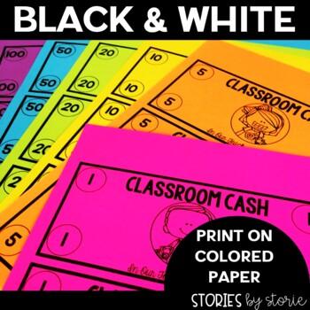 Classroom Money (Editable)