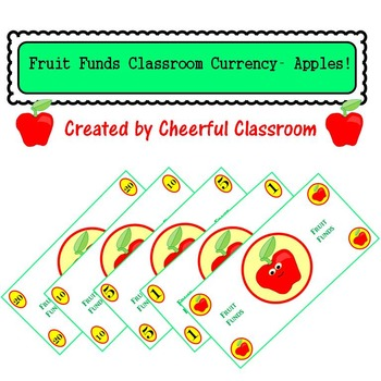 Classroom Money (Fruit Funds Rewards, Classroom Management