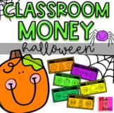 """Classroom Money: Halloween (""""Boo! Bucks"""")"""