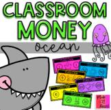 """Classroom Money: Ocean (""""Class Cash"""")"""