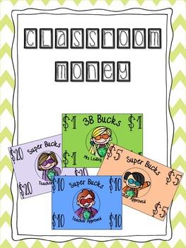 Classroom Money Pack!