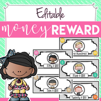 Classroom Money Reward   Fake Money - EDITABLE