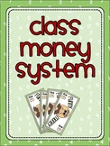Classroom Money Reward System