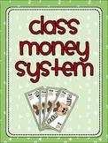 Classroom Money Reward System
