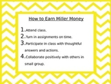 Classroom Money Rules Posters