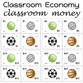 Classroom Money Sports Theme