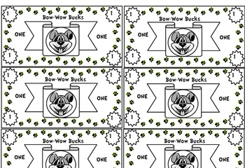 Classroom Money Templates By Mrs Ro