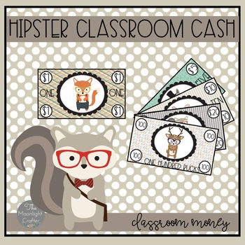 Classroom Money Woodland Hipster Themed