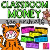 "Classroom Money: Zoo Animals (""Zoo Bucks"")"