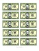 Classroom Reward (Incentives) Cash/Bucks with Math Facts-You Can Label the Money