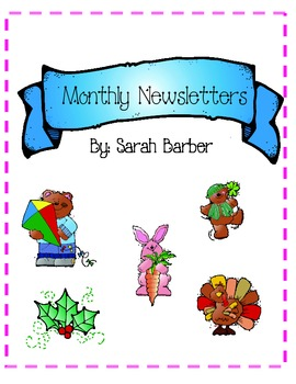 Classroom Monthly Newsletters
